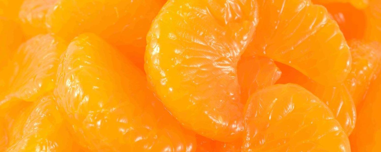 Canned mandarin