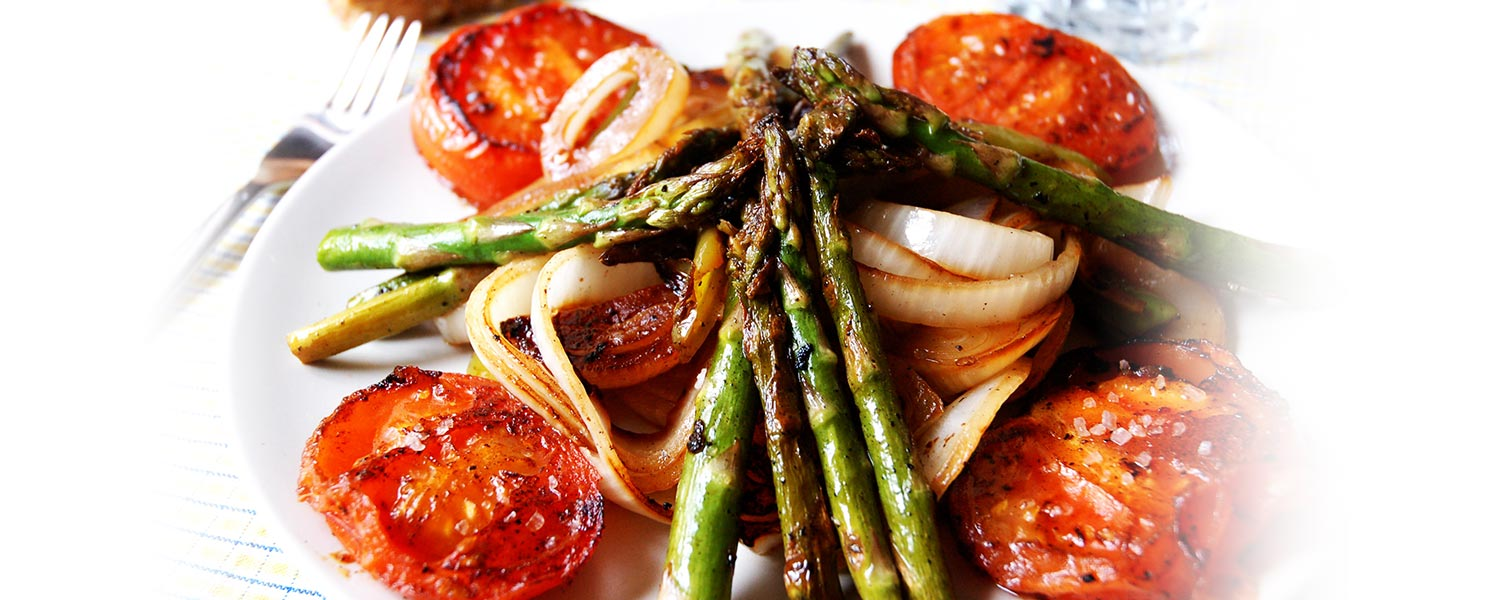 Grilled and prefried vegetables and Mixes