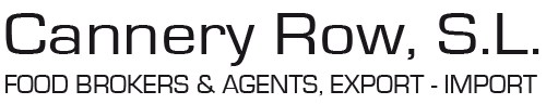 Cannery Row. Food Brokers & Agents. Export – Import Logo
